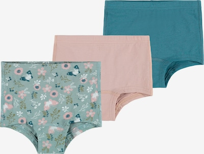 Apatinės kelnaitės 'NMFTIGHTS 3P' iš NAME IT , spalva - turkio spalva / žalia / rožinė, Prekių apžvalga