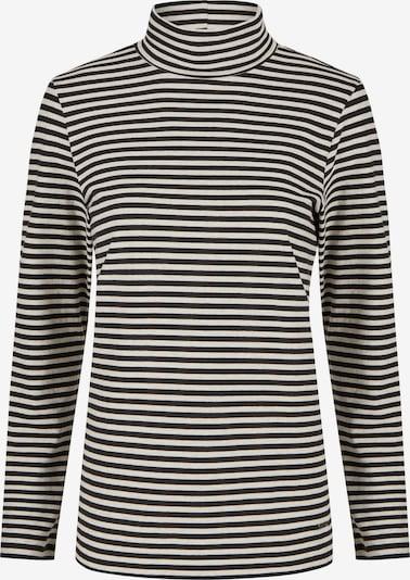 DANIEL HECHTER Langarmshirt in schwarz / weiß, Produktansicht