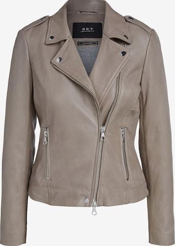 SET Between-Season Jacket in Brown