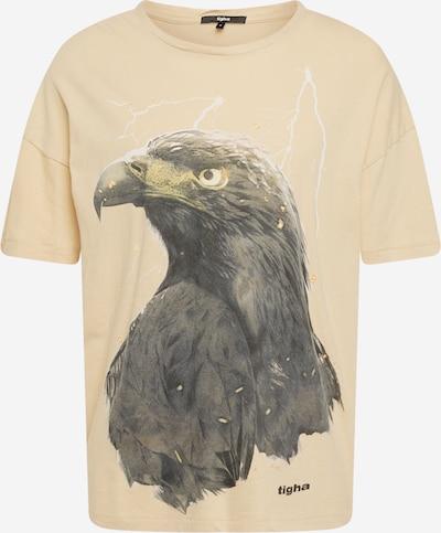 Tricou ' Sky Eagle Arne ' tigha pe nisipiu / gri grafit, Vizualizare produs