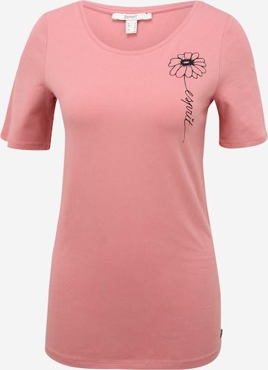Tricou Esprit Maternity pe roz vechi / negru, Vizualizare produs
