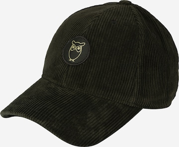 KnowledgeCotton Apparel Cap '8 Wales' in Green
