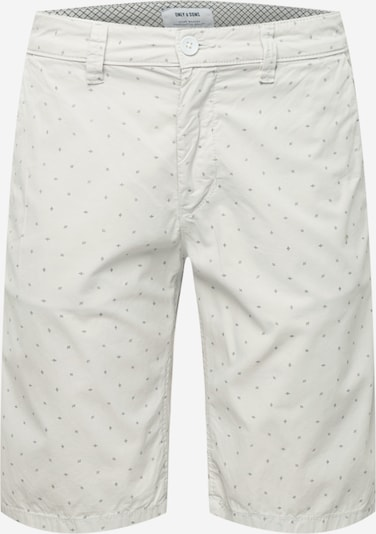 Only & Sons Chino-püksid 'WILL' helehall / must, Tootevaade