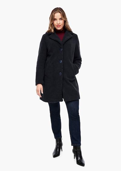 TRIANGLE Winter Coat in Dark blue, View model