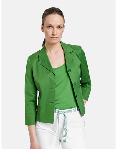 GERRY WEBER Blazer in grün, Modelansicht