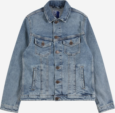 Jack & Jones Junior Jeansjacke 'Alvin' in blue denim, Produktansicht