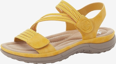 RIEKER Trekking sandal in yellow gold, Item view