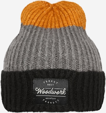 NAME IT Beanie 'MOSS' in Brown