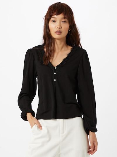 ABOUT YOU Bluza 'Halina' u crna, Prikaz modela