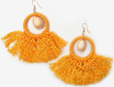 J. Jayz Ohrring in gold / orange, Produktansicht