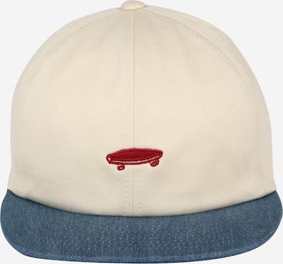 VANS Cap in beige / blau / weinrot, Produktansicht