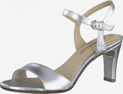TAMARIS Sandale in silber, Produktansicht