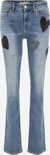 Levi's® Upcycling Jeans 'Kelvyn Colt Design 712' in blue denim, Produktansicht