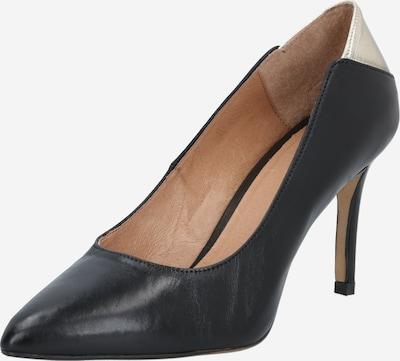 Bianco Zapatos con plataforma 'Cait' en negro, Vista del producto