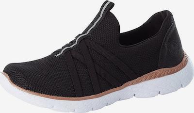 fekete / fehér RIEKER Belebújós cipők, Termék nézet