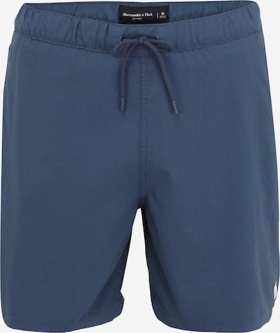 Abercrombie & Fitch Plavecké šortky - chladná modrá / bílá, Produkt