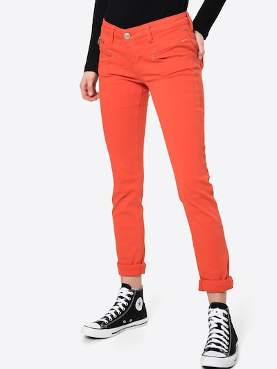 FREEMAN T. PORTER Jeans 'Alexa' in melone, Modelansicht
