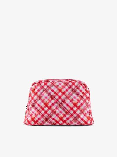 PIECES Waschtasche 'Jiona' in orange / pink / weiß, Produktansicht