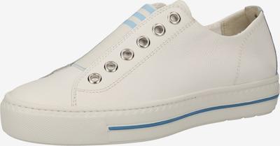 Paul Green Baskets basses en blanc, Vue avec produit