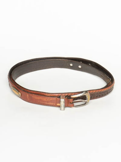 FOSSIL Belt in 8XL in Brown, Item view
