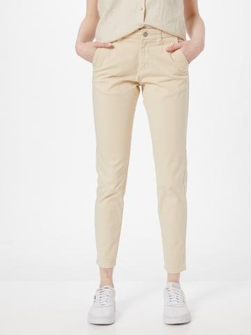 SELECTED FEMME Chino-püksid 'MILEY', värv valge