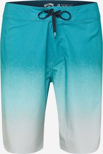 BILLABONG Boardshorts 'ALL DAY FADE PRO' in türkis / aqua / weiß, Produktansicht