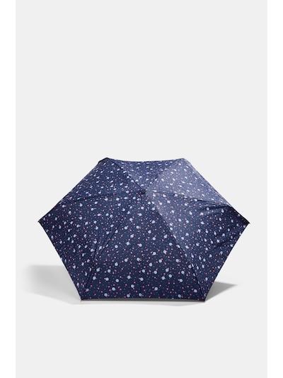 ESPRIT Regenschirm in dunkelblau / mischfarben, Produktansicht