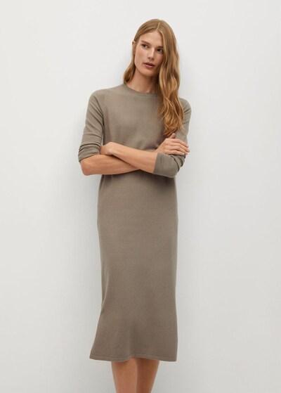 MANGO Kleid 'Sofa-A' in beige, Modelansicht