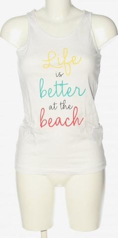 Strooker Top & Shirt in S in White