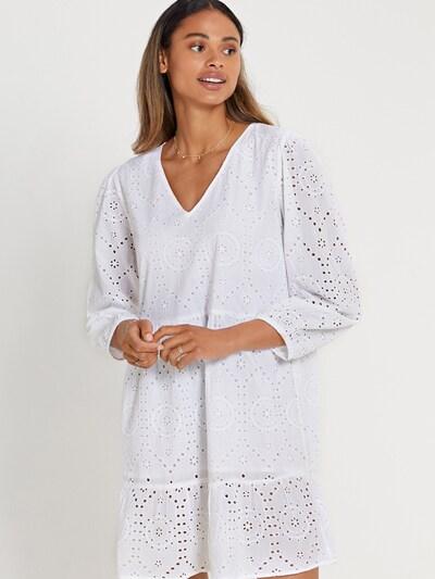 Shiwi Kleid 'TULUM' in weiß, Modelansicht