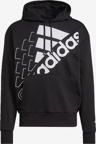 ADIDAS PERFORMANCE Sweatshirt 'Bluv' in Schwarz