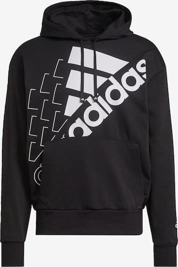 ADIDAS PERFORMANCE Sweatshirt i svart / vit, Produktvy