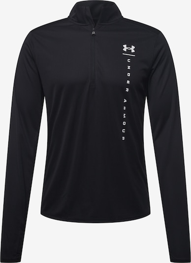 Sportiniai marškinėliai iš UNDER ARMOUR, spalva – juoda / balta, Prekių apžvalga