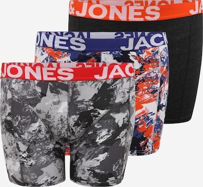Jack & Jones Plus Boxerky 'CORE' - modrá / tmavě šedá / mix barev / oranžová, Produkt