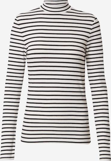 Q/S designed by Shirt in schwarz / weiß, Produktansicht