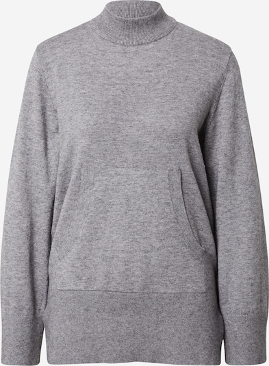 ICHI Sweater 'KAVA' in mottled grey, Item view