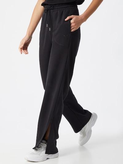 PUMA Spodnie w kolorze czarnym, Podgląd na modelu(-ce)