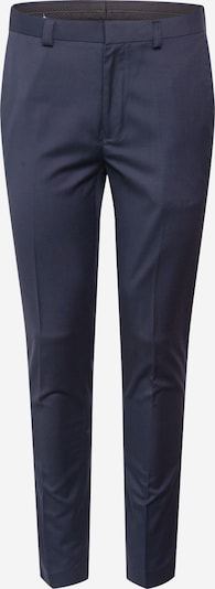 BURTON MENSWEAR LONDON Trousers with creases in navy, Item view