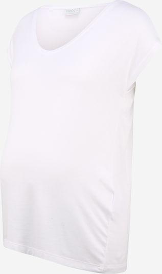 Pieces Maternity T-shirt 'BILLO' en blanc, Vue avec produit