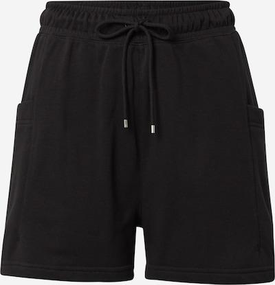 Nike Sportswear Housut 'Air' värissä musta / valkoinen, Tuotenäkymä
