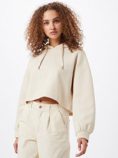 ONLY Sweatshirt 'Hope' in beige, Modelansicht