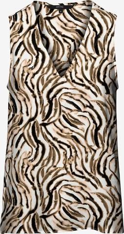Vero Moda Curve Bluse 'Saga' in Beige