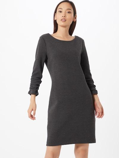 TOM TAILOR DENIM Kleid in dunkelgrau, Modelansicht
