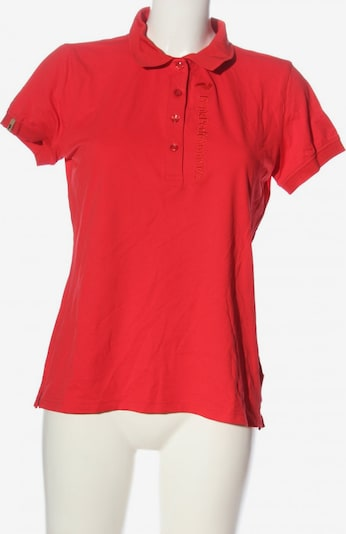 PEAK PERFORMANCE Polo-Shirt in L in rot, Produktansicht
