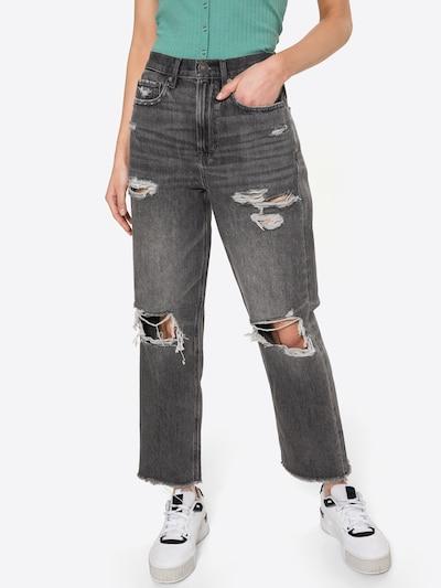 American Eagle Jean en gris foncé, Vue avec modèle