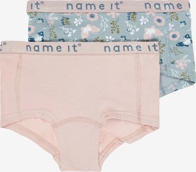 NAME IT Sous-vêtements en bleu ciel / bleu pastel / vert / rose ancienne / blanc, Vue avec produit