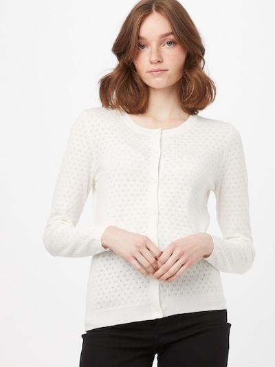 OVS Strickjacke 'POINTELLE' in weiß, Modelansicht
