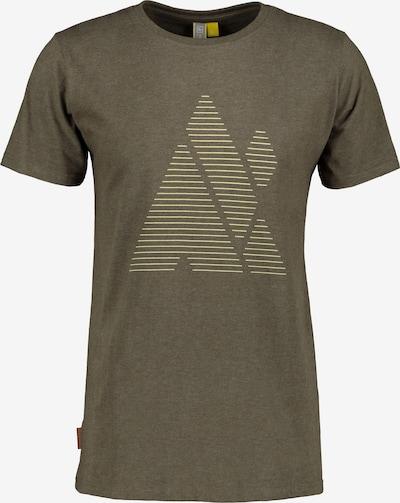 Alife and Kickin Shirt in beige / braun, Produktansicht