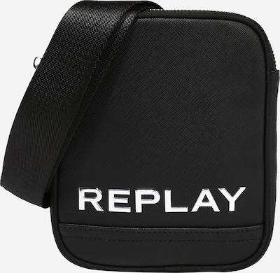 REPLAY Torba na ramię w kolorze czarny / białym, Podgląd produktu