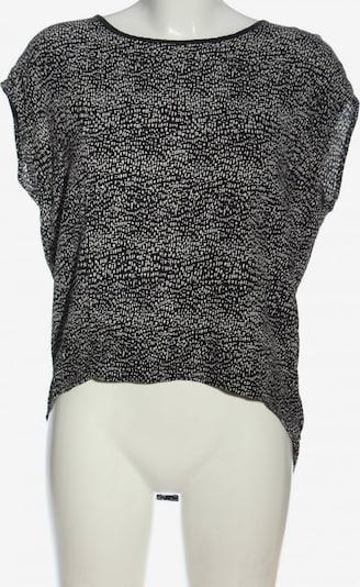 PIECES Schlupf-Bluse in L in schwarz / weiß, Produktansicht